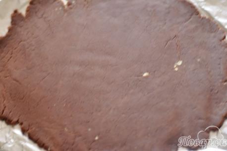 Пласт для десерта из печенья без выпечки
