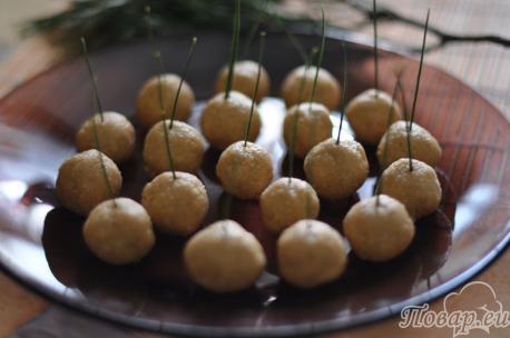 Приготовление десерта из вафель без выпечки