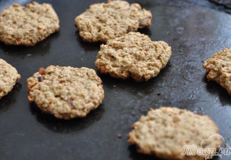 Диетическое овсяное печенье: готовое печенье