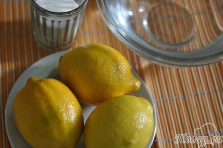 ингредиенты для приготовления домашнего лимонада из лимонов