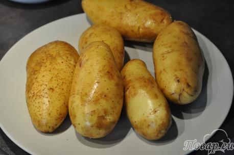 Молодая картошка для драников