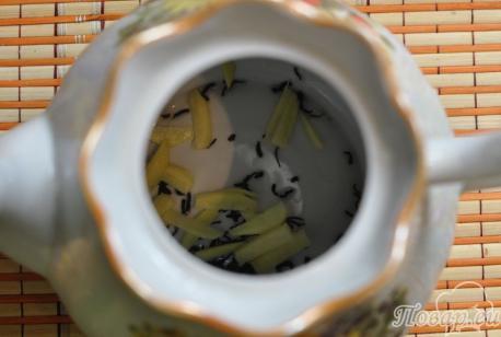 Рецепт имбирного чая с апельсином: чай и имбирь