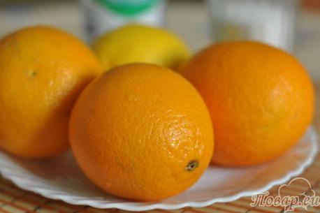 Фанта из апельсинов: апельсины