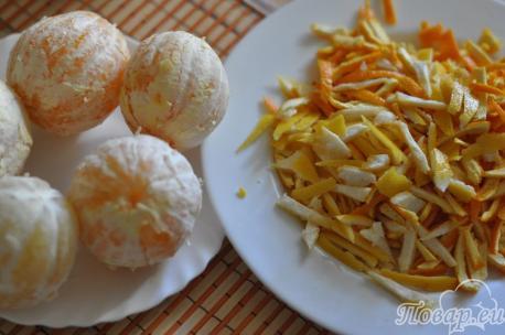 Фанта из апельсинов: подготовка компонентов