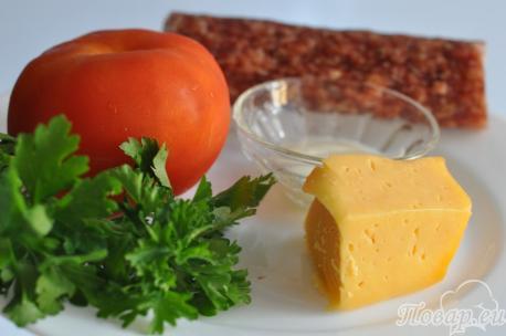 Горячие бутерброды в духовке: продукты