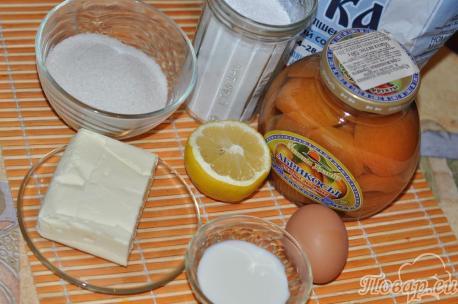 ингредиенты для приготовления глазированного печенья из песочного теста