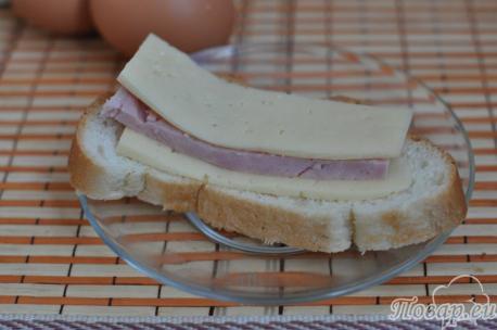 Горячие бутерброды на сковороде: приготовление