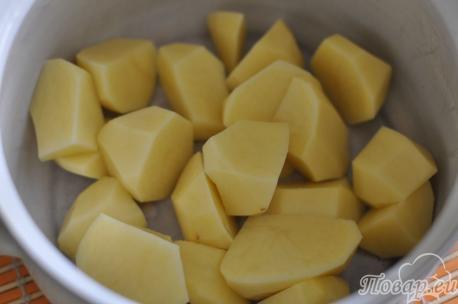 ингредиенты для приготовления грибного супа-пюре со сливками