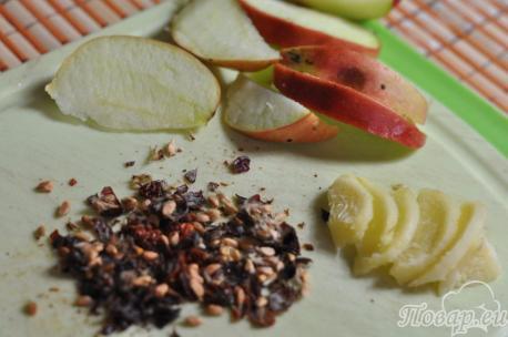Имбирный чай с шиповником: подготовка ингредиентов