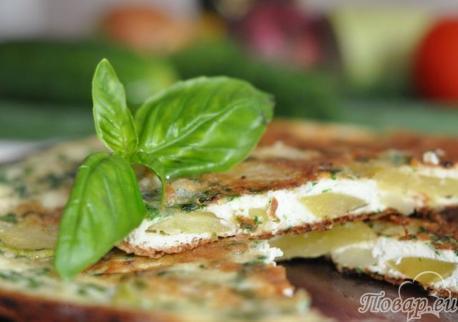 Как правильно приготовить омлет: с овощами