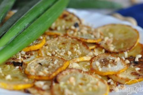 Как правильно приготовить кабачки с орехами