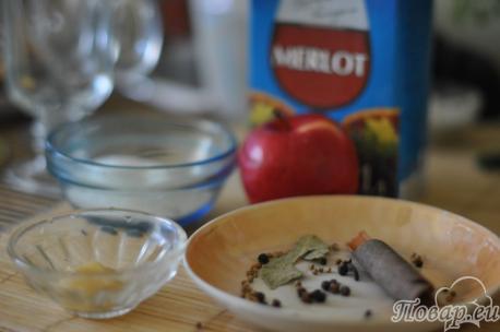 как готовить глинтвейн в домашних условиях: шаг 1