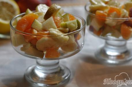 Как правильно питаться в пост: фруктовые десерты