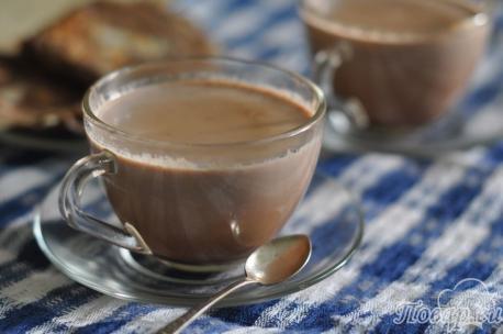 Какао на завтрак
