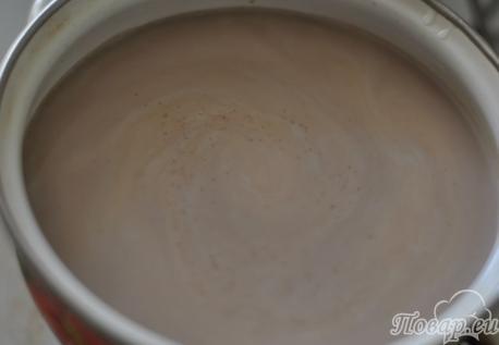 Готовое какао на завтрак