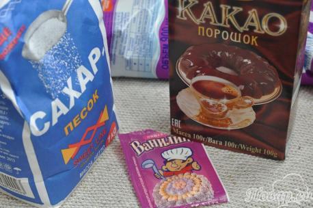 Какао в мультиварке: продукты