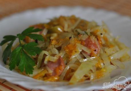 Как правильно приготовить капусту белокочанную: тушёная капуста