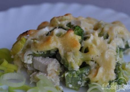 Как правильно приготовить капусту брокколи: запеканка