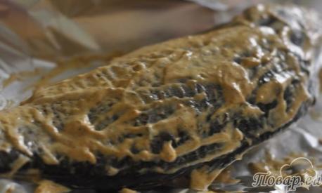 Как правильно приготовить карпа в духовке в фольге: шаг 2