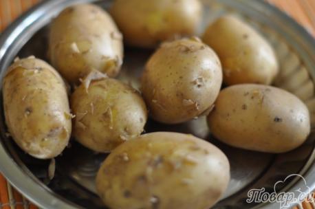 Как правильно варить картошку в мундире