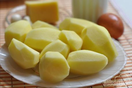 Картофель Дофине в духовке: продукты