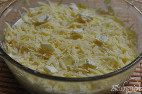 Картофель Дофине в духовке: в форме