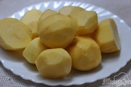 Картофель на пару в мультиварке: подготовка картофеля