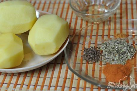 Картофельные дольки в духовке: продукты