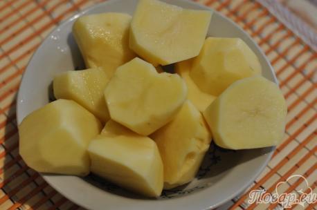 ингредиенты для приготовления картофельных клёцек