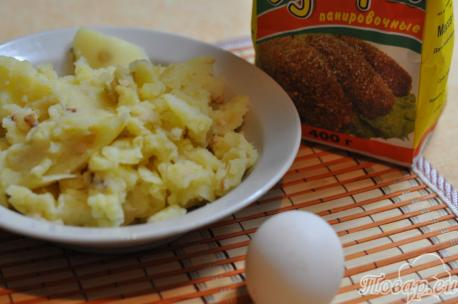 Картофельные шарики из пюре: продукты