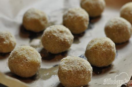 Картофельные шарики из пюре: шарики
