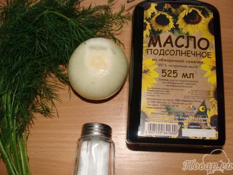 лук для жареной картошки
