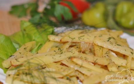 Как правильно приготовить картошку фри