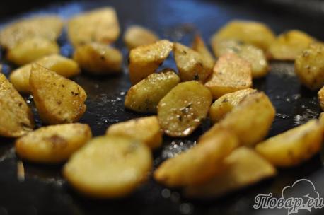 Как правильно приготовить картошку в духовке: картофель по-деревенски