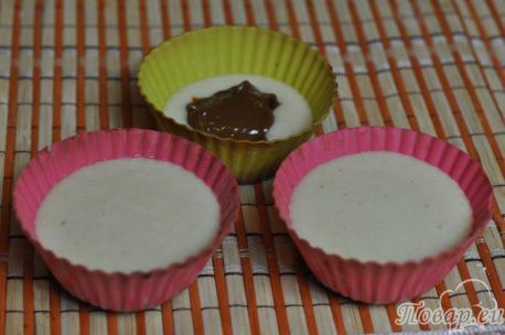 Кексы с начинкой: тесто с начинкой
