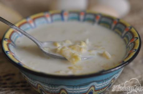 Как сделать клёцки для супа: затирка