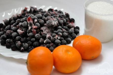Компот из замороженных ягод в мультиварке: продукты