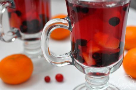 Компот из замороженных ягод в мультиварке: в чашках