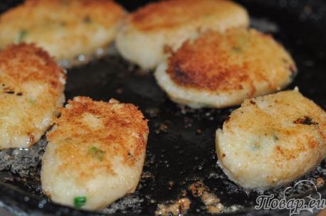 Котлеты из картофельного пюре: готовое блюдо