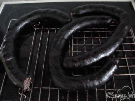 готовая кровяная колбаса