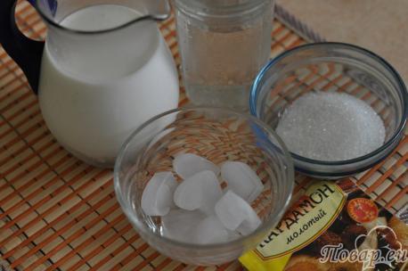 Ласси простой на кефире: продукты