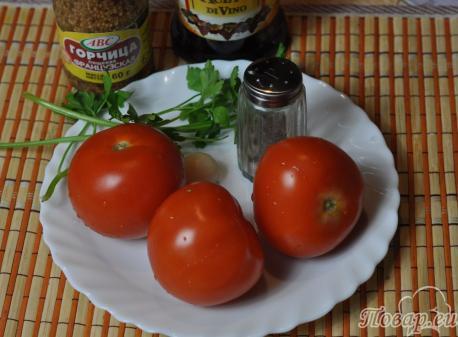 Маринованные помидоры быстрого приготовления: продукты