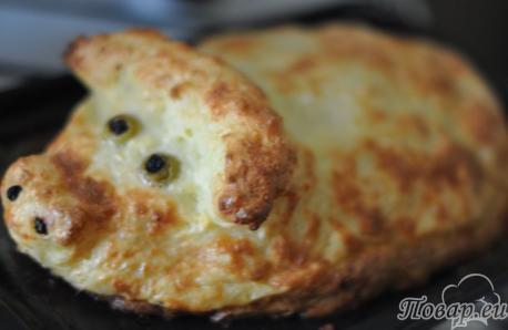 Новогоднее меню: пирог из капусты с картошкой