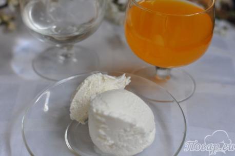 Напиток Айс-крим: продукты