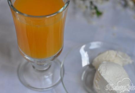 Напиток Айс-крим: приготовление