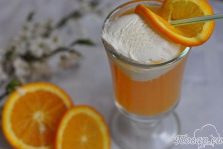 Напиток Айс-крим: готовый напиток