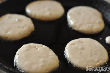 Оладьи без яиц: выпечка