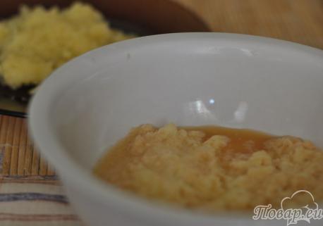 Оладьи из картофеля и кабачков