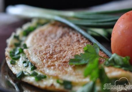 Как правильно приготовить омлет на сковороде: омлет по-болгарски