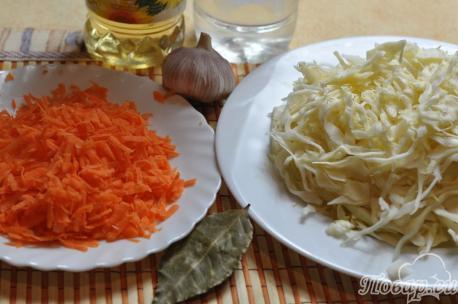 Острая капуста по-корейски: продукты